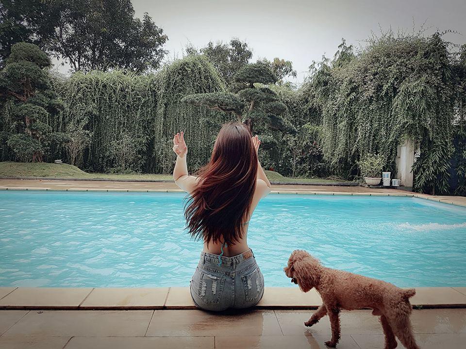 Hoa hậu Ðoàn Quỳnh Nga