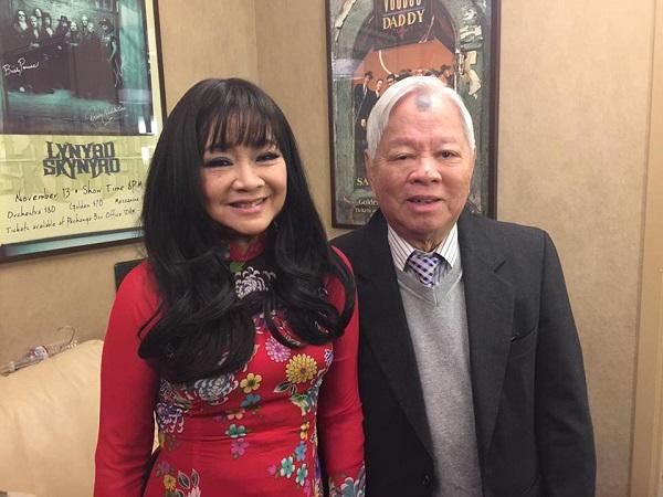 Nhạc sĩ Đỗ Kim Bảng và danh ca Hoàng Oanh