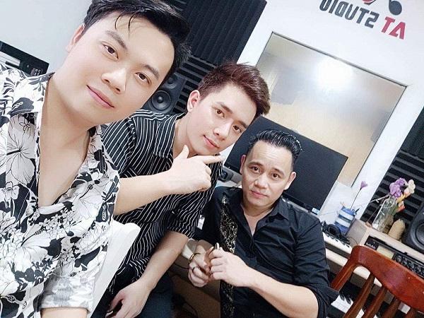 Nhà sản xuất âm nhạc Phan Anh Vũ.