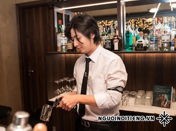 Với chàng bartender Trịnh An Thái, mỗi khách hàng đều mang đến nguồn cảm hứng thú vị.