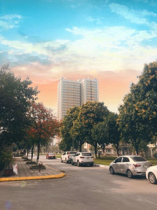 Toà nhà XP Homes Star với 368 căn hộ đã hoàn thiện 100%, mang ý niệm lộc tài - lộc phát.