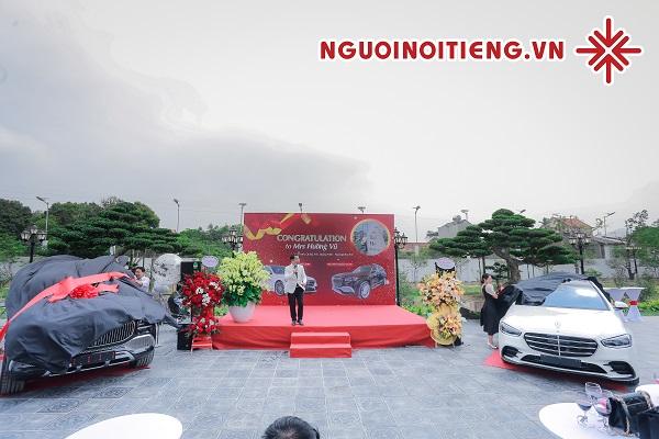 MC Phạm Hồng Phong tiết lộ địa điểm tổ chức 'Lễ nhận xe' và 'Tiệc mừng tân gia' của bà Vũ Hường (vườn lan Thác Mơ).