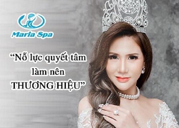 CEO Hương Maria là người tận tâm kiến tạo vẻ đẹp hoàn mỹ cho phái đẹp.