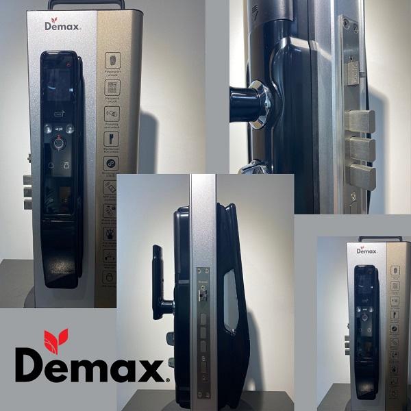 Khóa cửa thông minh Demax SL968, là sản phẩm 'con cưng' nổi bật với công nghệ AI (Artificial Intelligence), tích hợp tính năng nhận diện khuôn mặt.
