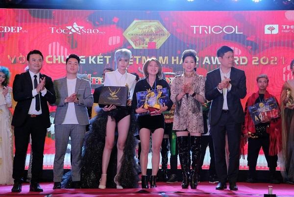 Nhà tài trợ cuộc thi Việt Nam Hair Award.