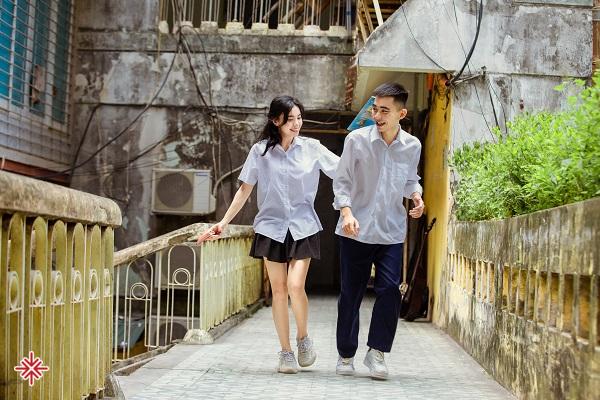 Với nam sinh Đắc Hải và nữ sinh Thương Nguyễn, mọi khoảnh khắc đều vô cùng quý giá.