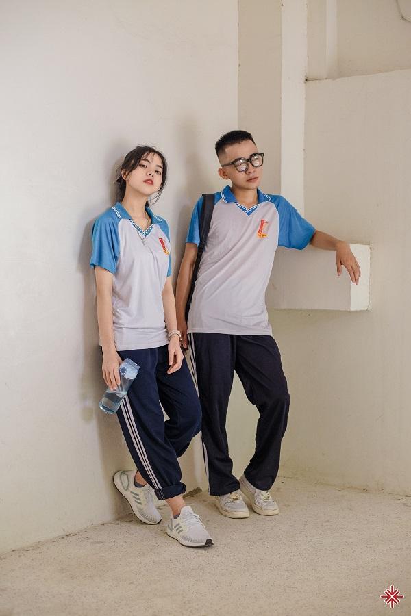 Nam sinh Đắc Hải và nữ sinh Thương Nguyễn trong 'khoảnh lặng' nhớ thầy, nhớ cô, nhớ trường xưa lớp cũ.