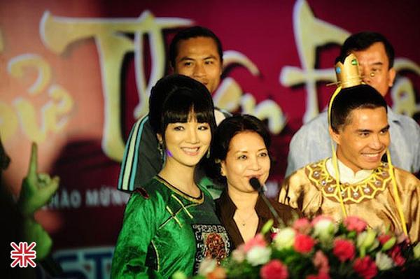 Vai diễn Phụng Càn Hoàng Hậu đã tôn vinh vẻ đẹp sắc nước hương trời của Hoa hậu Giáng My.