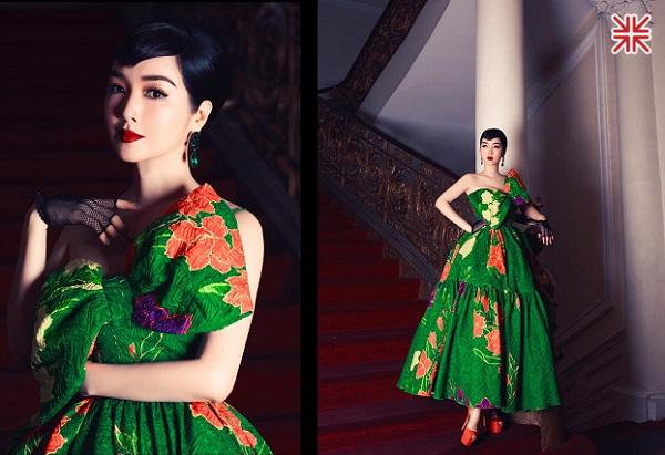 Hoa hậu Đền Hùng Giáng My đẹp rực rỡ, lộng lẫy và tinh khôi.