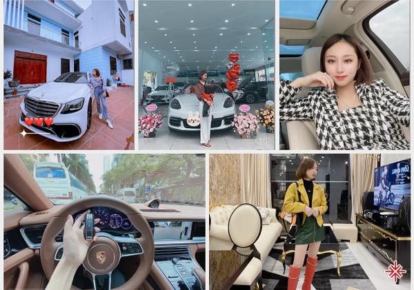 CEO Hồ Bích Ngọc nhìn lại và tạm hài lòng với chiếc xe mình đang lái, cái nhà mà mình đang ở, là thành quả của quá trình kinh doanh thiện lương của mình.