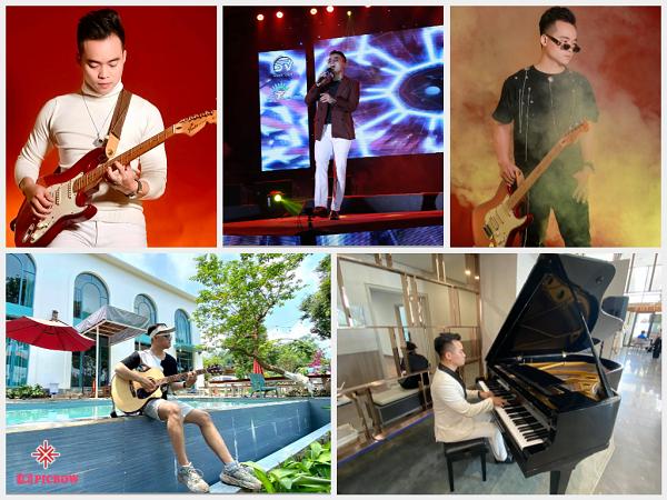 Ca sĩ Đinh Phú Đức đã tạo ra một sản phẩm âm nhạc mang đậm 'dấu ấn cá nhân' khi tự mình vừa hát, vừa biểu diễn 5 loại nhạc cụ.