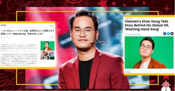 Khắc Hưng xuất hiện trên tạp chí Billboard của Mỹ và Nhật.