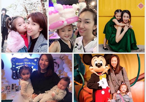 Những hình ảnh đời thường của ca sĩ Lều Phương Anh cùng con gái.