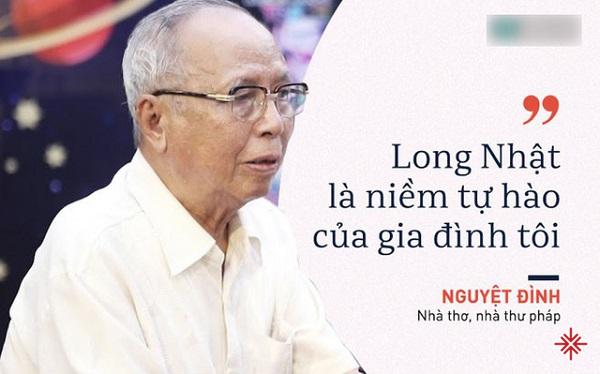 Nhà thơ Nguyệt Đinh - bố ca sĩ Long Nhật.