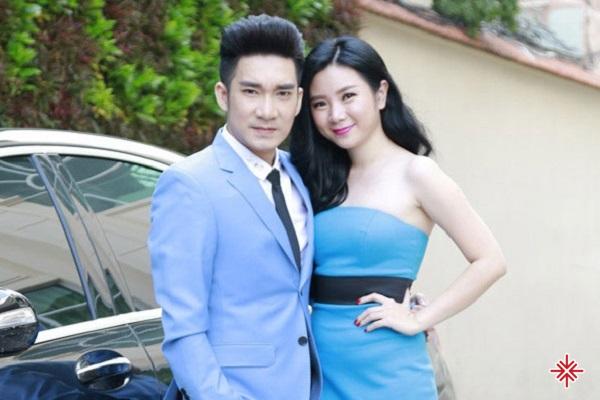 Ca sĩ Quang Hà cùng bạn gái cũ Thu Hà.