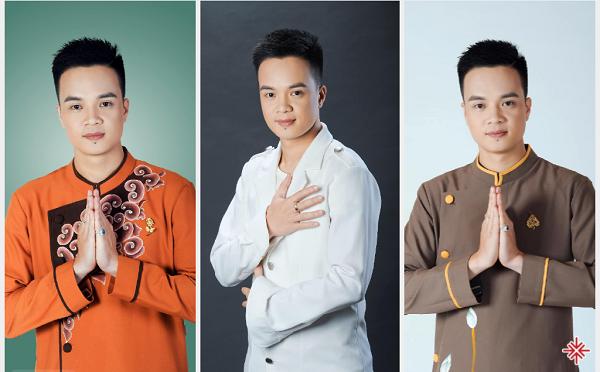Nam ca sĩ Trần Duy Hưng sở hữu bộ 3 'gia tài' âm nhạc Phật giáo, allbum: Phật là ánh sáng đời con, Hạnh phúc về với Phật, Con về bên Phật.