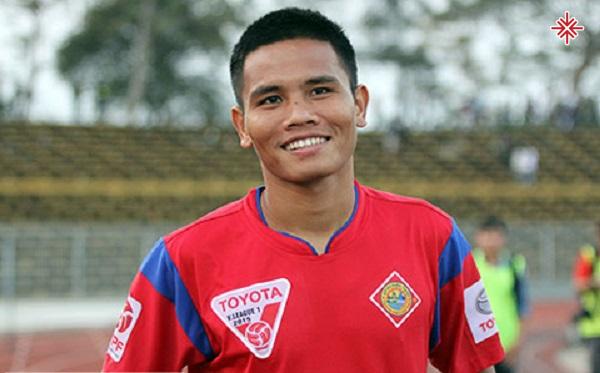 Cầu thủ Lê Văn Thắng - 'người không phổi' mỗi khi bước ra sân cỏ.
