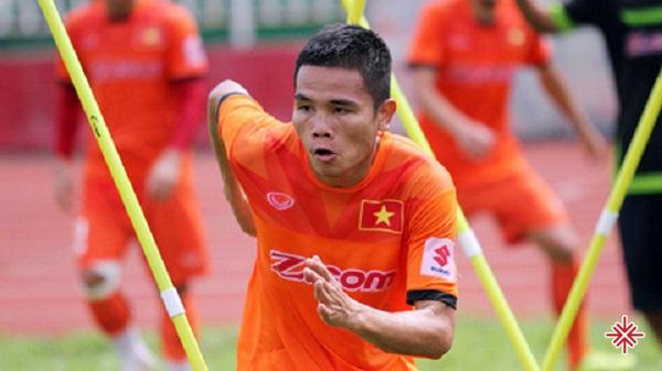 Lê Văn Thắng có lần đầu tiên được khoác lên mình màu áo quốc gia U17 Việt Nam.