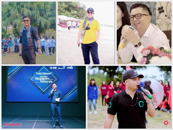 Với Hà Văn Tuyển nghề dẫn chương trình anh đam mê bằng 1, thì nghề điều hành sự kiện, đạo diễn chương trình anh đam mê bằng 10.