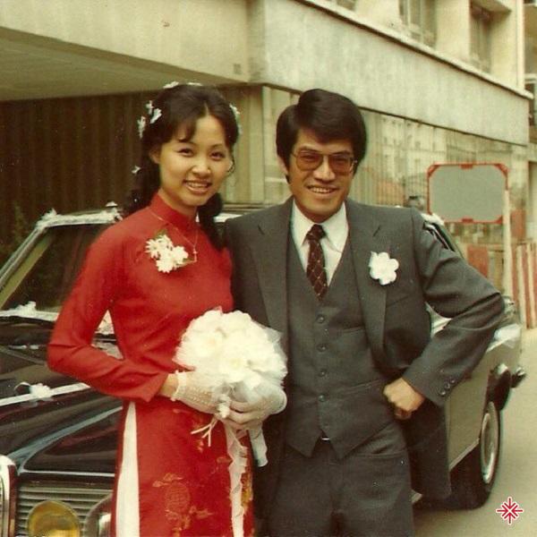 Nguyễn Ngọc Ngạn và người vợ gặp một lần đã muốn 'cầu hôn'.