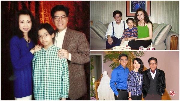 Gia đình hiện tại của MC Nguyễn Ngọc Ngạn.