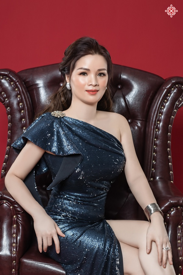Bà Nguyễn Vân Anh (CEO Vân Anh Spa) - người có nhiều hoài bão và tâm huyết với 'nghề làm đẹp'.