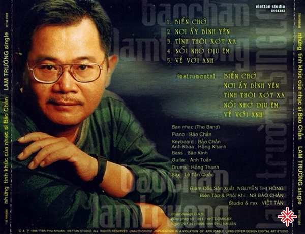 Những ca khúc của nhạc sĩ Bảo Chấn từng giúp nhiều ca sĩ thành danh.