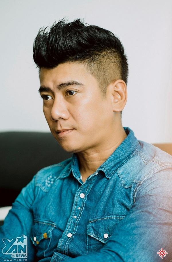 Ca sĩ Trương Huy Đan.