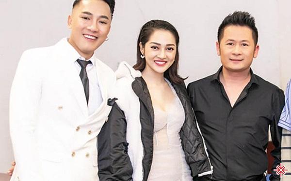 Châu Khải Phong đứng cùng sân khấu với Bằng Kiều, Bảo Anh.