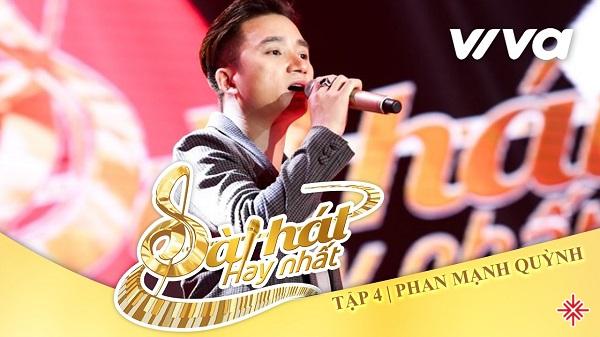 Năm 2017 Phan Mạnh Quỳnh tham gia Sing my song.