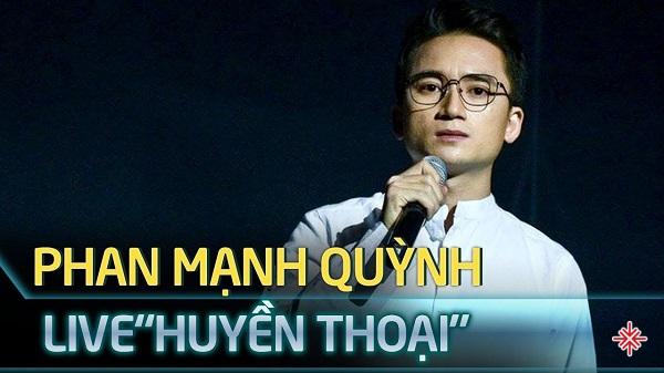 """Ca khúc Huyền thoại của Phan Mạnh Quỳnh được đề cử giải Cống hiến, hạng mục """"Bài hát của năm""""."""