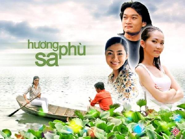 Tăng Thanh Hà trong vai Út nhỏ trong Hương Phù Sa.