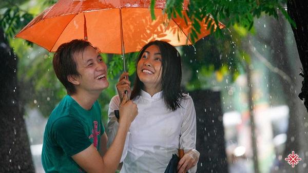 Diễn viên Tăng Thanh Hà vai Trúc trong Bỗng dưng muốn khóc.