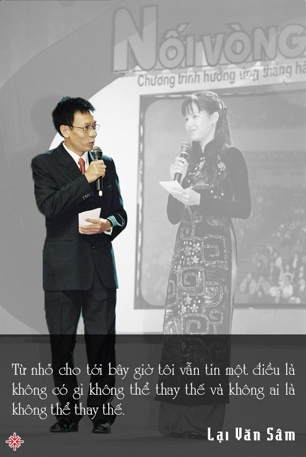 Với lối dẫn chương trình hóm hỉnh, gần gũi, Lại Văn Sâm đã truyền tải được không khí tươi trẻ của một thời thanh xuân đến khán giả.