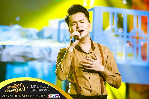 Nam Cường thể hiện những ca khúc Bolero trữ tình lãng mạn trong chương trình Người kể chuyện tình.