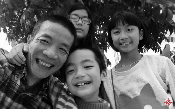 Nguyễn Vĩnh Tiến quan niệm, gia đình rất quan trọng bởi đó vừa là tổ ấm vừa là điểm tựa.